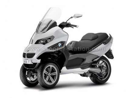 Scooters on Bmw 3 Wheel Concept Fact Or Fiction Scooter Munity Everything