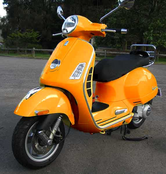 I Own An Orange Scooter Scooter Community Everything About