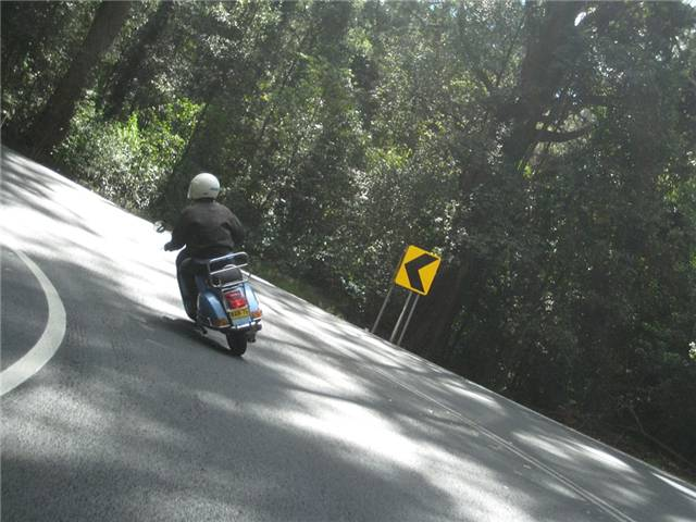 Tailing Pete's PX up Maquarie Pass